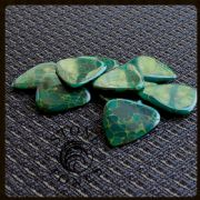 Stone Tones 4 Corian Stone Guitar Picks | Timber Tones